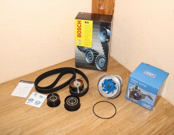 Zahnriemen Zahnriemensatz BOSCH 1 987 948 626 1987948626 inkl. Wasserpumpe SKF für Opel mit C20XE C2