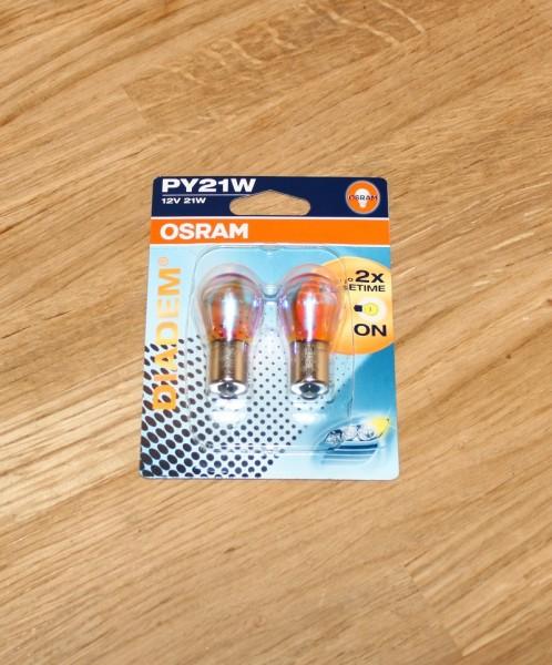 Glühlampe Blinkleuchte OSRAM 7507LDA-02B EAN: 4050300925486