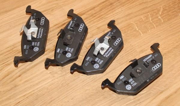 Bremsbelagsatz Scheibenbremse Vorderachse für AUDI VW SEAT SKODA