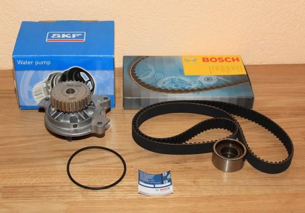 ZAHNRIEMEN SATZ BOSCH FÜR/KOMPATIBEL ZU 20V Turbo AUDI 100 S2 S4 S6 Wasserpumpe SKF EAN: 3165141094237