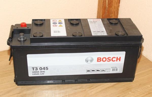 Starterbatterie BOSCH 0092T30450 EAN: 4047024344907