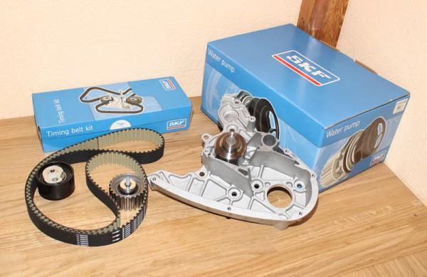 Zahnriemen Zahnriemensatz Wasserpumpe SKF FIAT Ducato Multijet 2,3 D