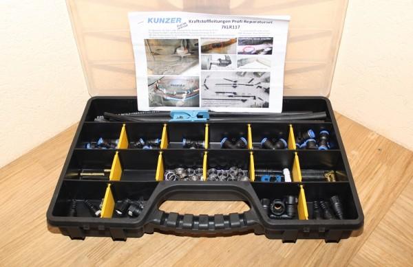 KUNZER 7KLR117 Kraftstoffleitungs-Reparaturset 117 teilig EAN: 4260174660707
