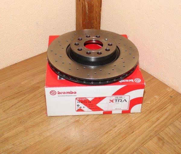 Bremsscheibe BREMBO XTRA LINE 09.9772.1X EAN: 8020584212677