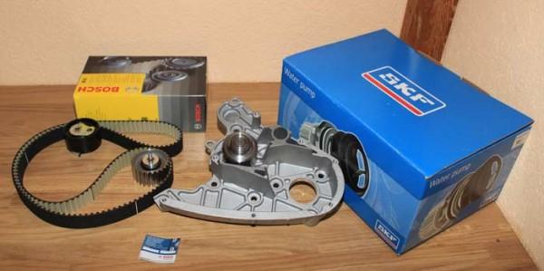 Zahnriemen Zahnriemensatz BOSCH Wasserpumpe SKF FIAT Ducato Multijet 2,3 D