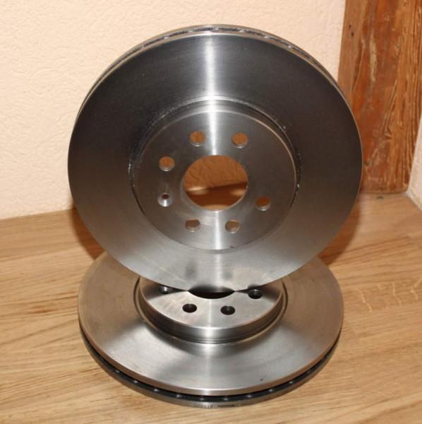 2 Stück Bremsscheibe für Opel 4 X 100mm 280mm X 25mm FN54