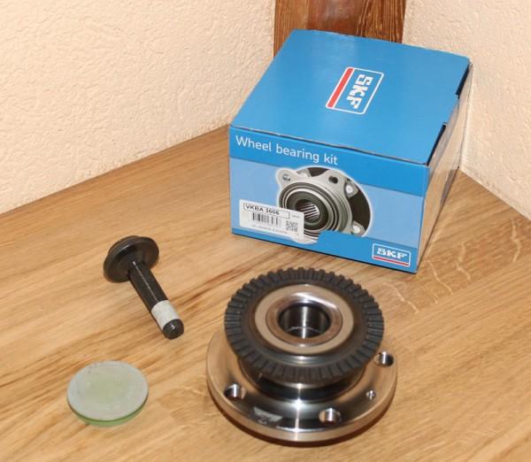 SKF Radlagersatz Radlager VKBA 3606 VKBA3606 für AUDI A4 SEAT EXEO EAN: 7316572234747