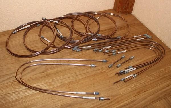QUICK BRAKE Cu Ni Kupfer Nickel Bremsleitung Bremsleitungssatz für VW Transporter Bulli T4 IV für Fa