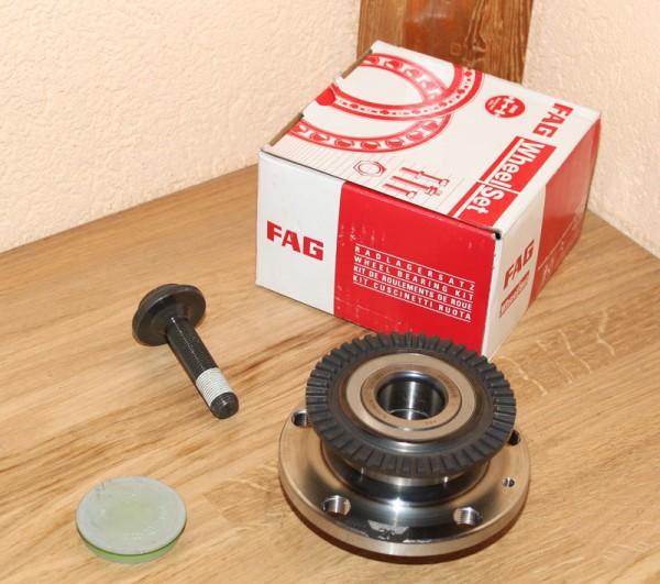 FAG Radlagersatz Radlager 713 6107 00 713610700 für AUDI A4 SEAT EXEO EAN: 4014870019990