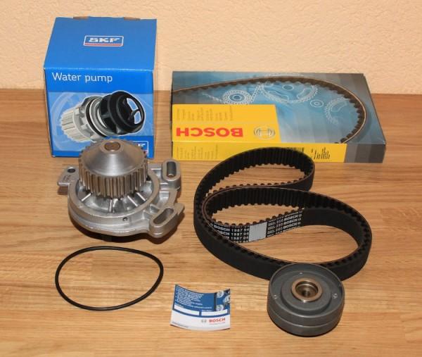 ZAHNRIEMEN SATZ BOSCH 20V Turbo AUDI S2 200 90 Ur Quattro SKF Wasserpumpe Motor EAN: 3165141078664