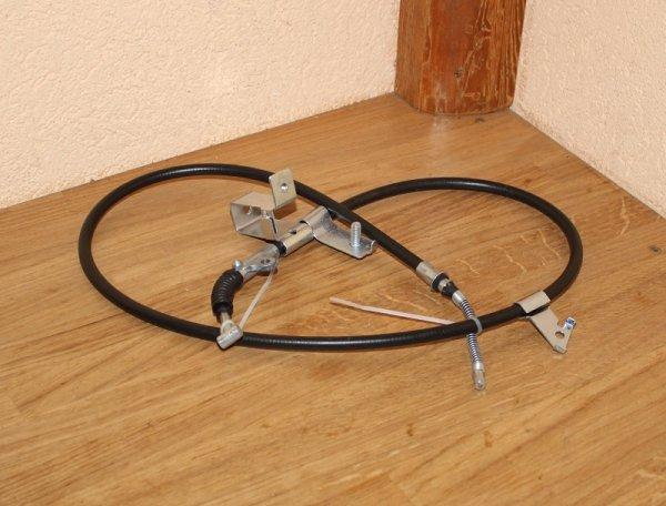 handbremsseil trw gch2358 f r kompatibel zu nissan micra. Black Bedroom Furniture Sets. Home Design Ideas