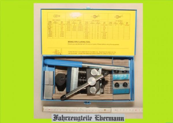 PROFI Bremsleitung Bördelgerät Bördelwerkzeug 4,75 / 6 mm zB Hanomag Unimog MAN