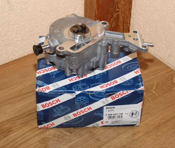 Unterdruckpumpe Bremsanlage BOSCH F 009 D02 799 F009D02799 EAN: 4047024870130