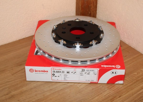 Bremsscheibe BREMBO 09.A804.33 09A80433 TWO-PIECE FLOATING DISCS LINE EAN: 8020584215197
