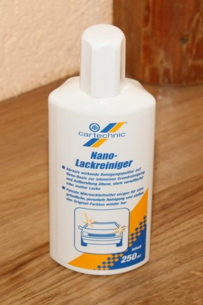 CARTECHNIC Nano Lackreiniger zur Aufbereitung älterer stark verwitterter Lacke EAN: 4027289015941