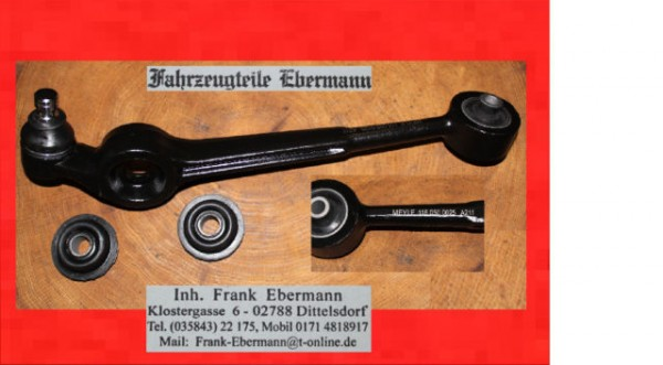 Querlenker links Vorderachse Audi V8 200 20V Turbo 19mm Meyle