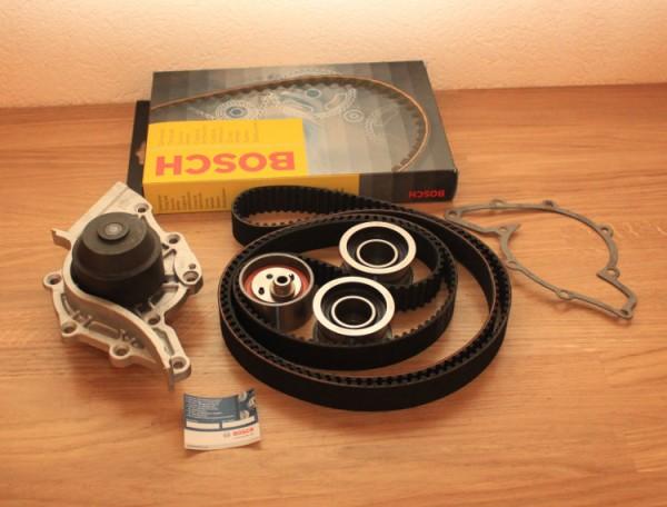 ZAHNRIEMEN BOSCH SATZ AUDI V8 3,6 PT 4,2 ABH + Wasserpumpe EAN: 4047023028877