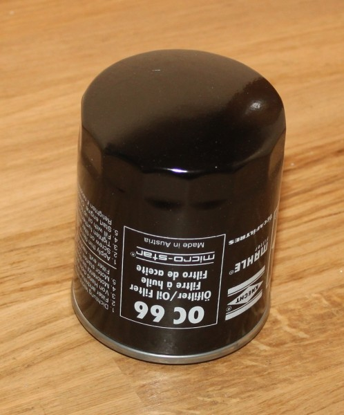 Ölfilter MAHLE OC66 EAN: 4009026002803