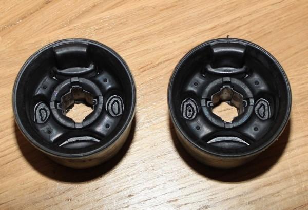 2 Stück Querlenker Querlenkerbuchse für Skoda Fabia VW Polo SEAT Ibiza Fox